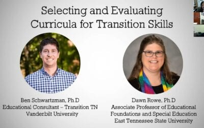Selecting and Evaluating Curriculum