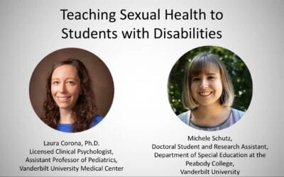 Teaching Sexual Health to Students with Disabilities