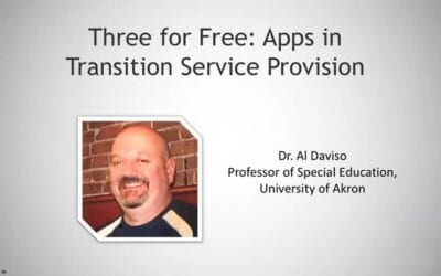Three for Free: Apps in Transition Service Provision